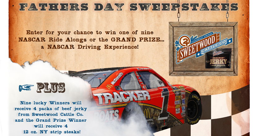 Father's Day NASCAR Sweepstakes! | Experience Gifts News ...