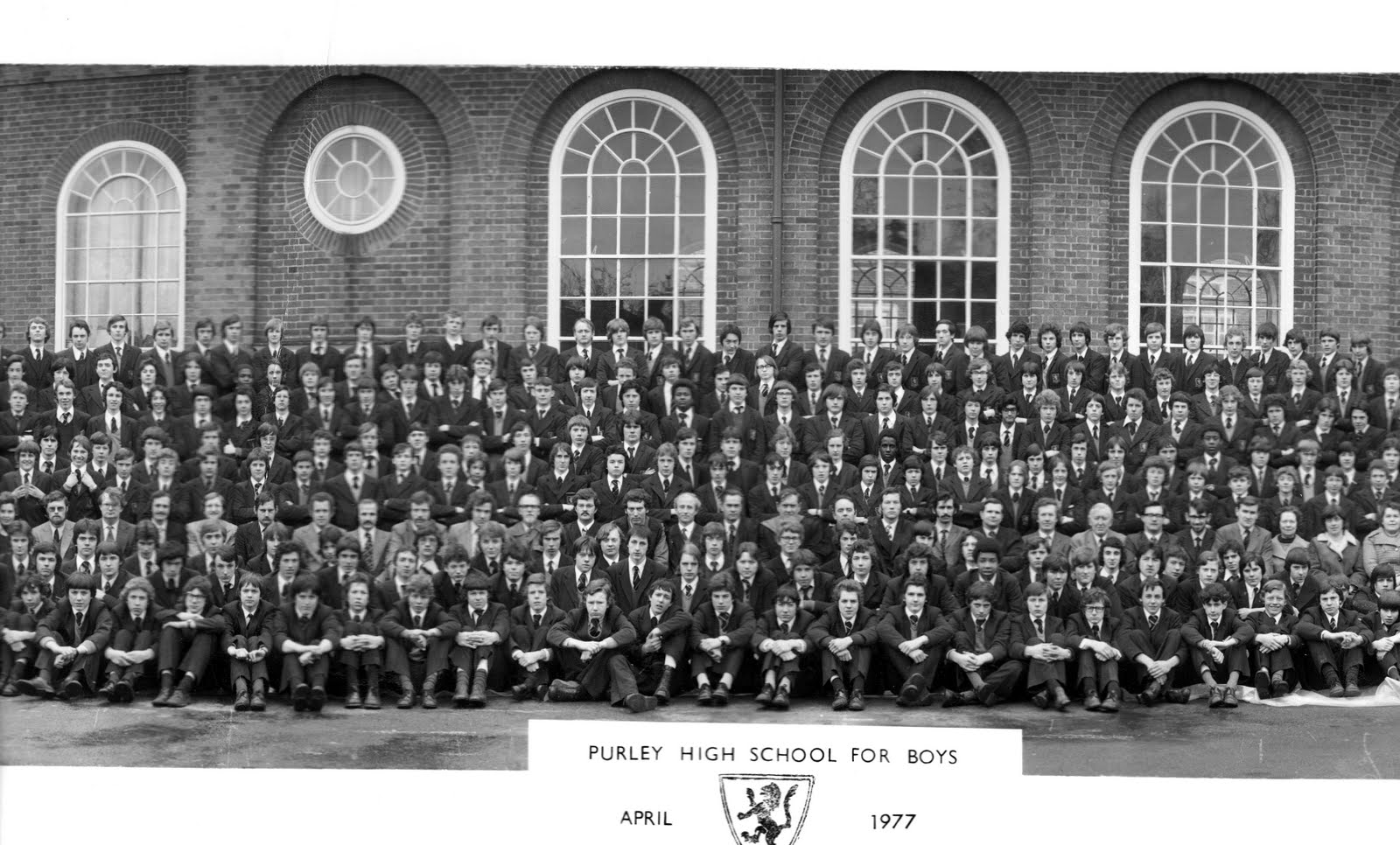 1977 Silver Jubilee Panoramic School Photo Purley right (3)