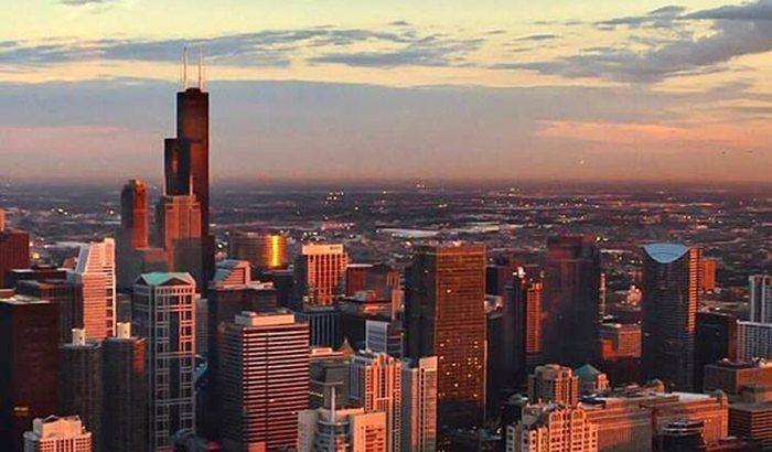 360 Sparkling Chicago Observatory