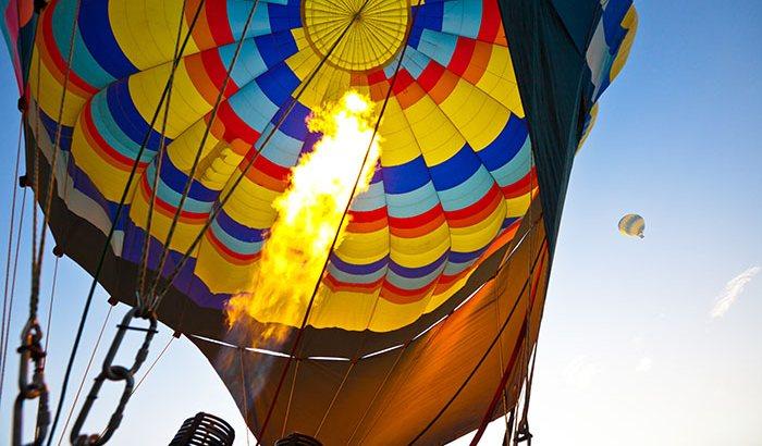 Boston Hot Air Balloon Ride