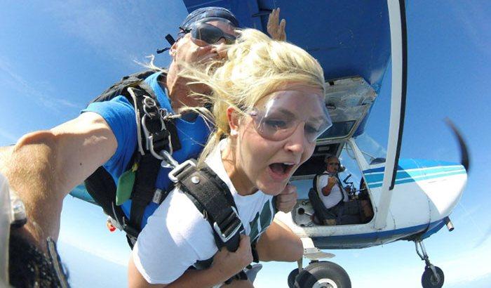 Tandem Skydiving Over Alliance