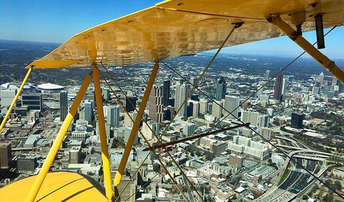 Atlanta Biplane Ride