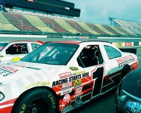 Auto Club Speedway NASCAR Ride Along