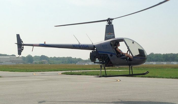 Baltimore Helicopter Flying Lesson