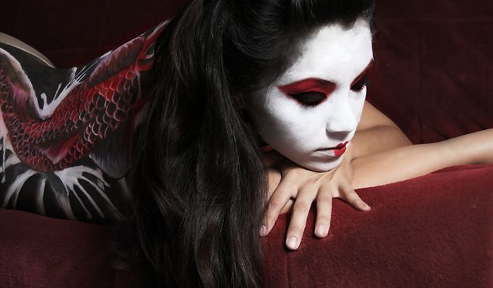 Body Painting Photography Shoot