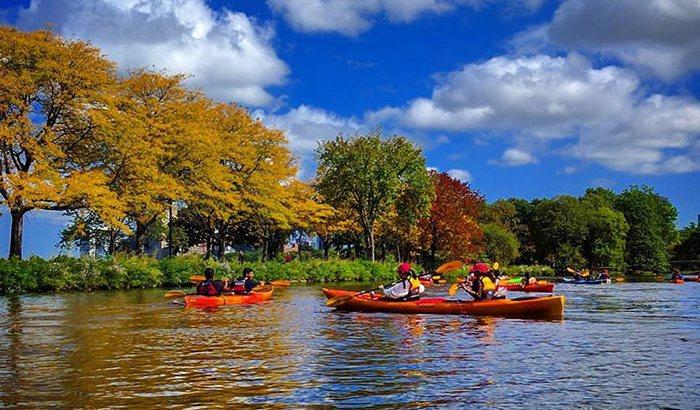 Boston Kayaking Tour