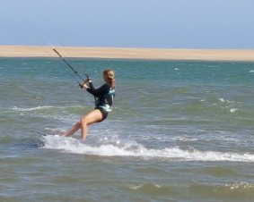 Cape Hatteras Kiteboarding Lesson
