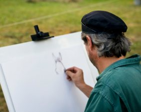 Central Park Drawing Class