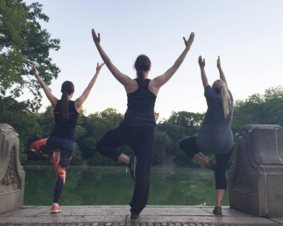 Central Park Sunrise Yoga Tour