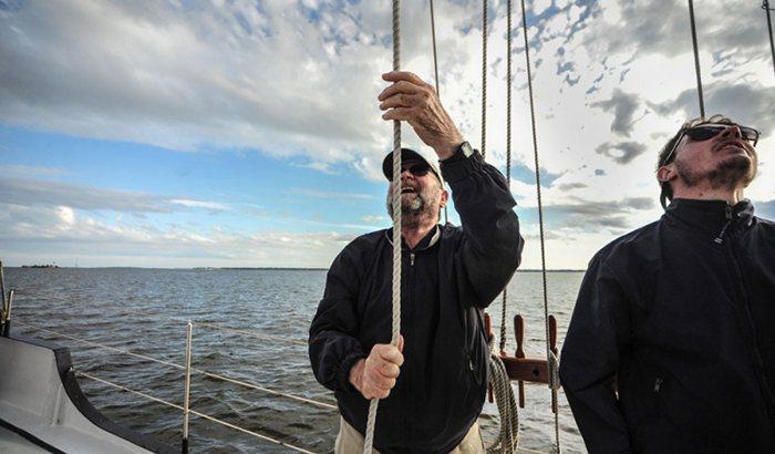Charleston Tall Ship Sailing