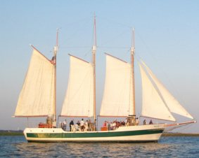 Charleston Schooner Sails