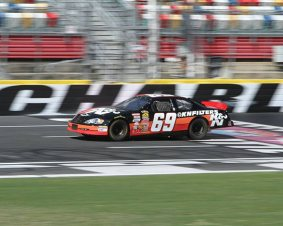 Charlotte Motor Speedway NASCAR Ride Along