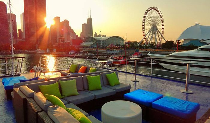 Chicago Dinner Cruise For Two