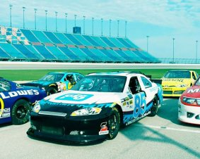 Chicagoland Speedway NASCAR Ride Along