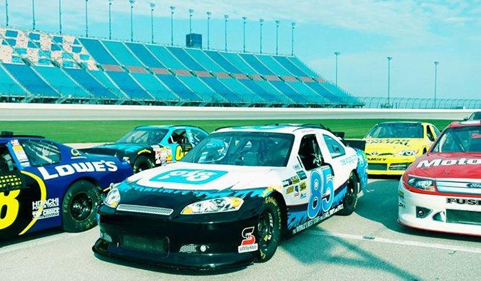 Chicagoland Speedway NASCAR Ride Along
