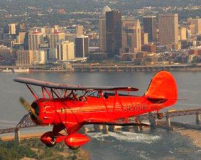 Biplane Ride Over Louisville