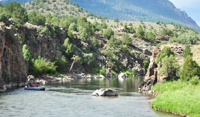 High Country Rafting on the Colorado River