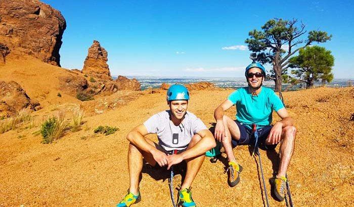 Colorado Springs Rock Climbing Tour