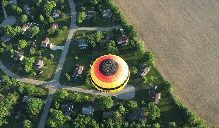 Columbus Hot Air Balloon Ride