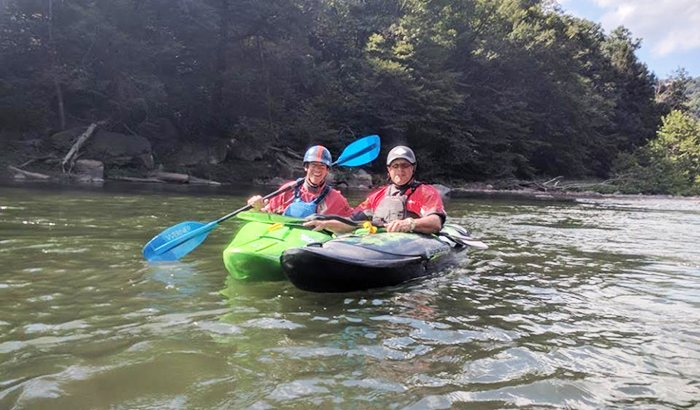 Kayaking Lesson in Ohiopyle State Park