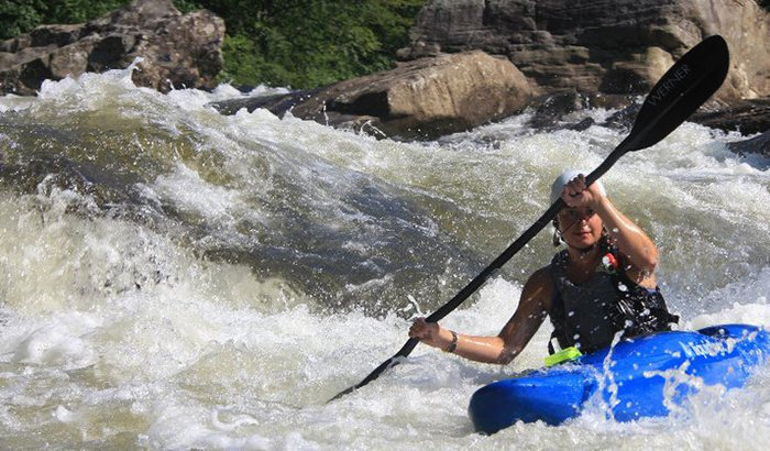 Whitewater Kayaking Lesson in Ohiopyle