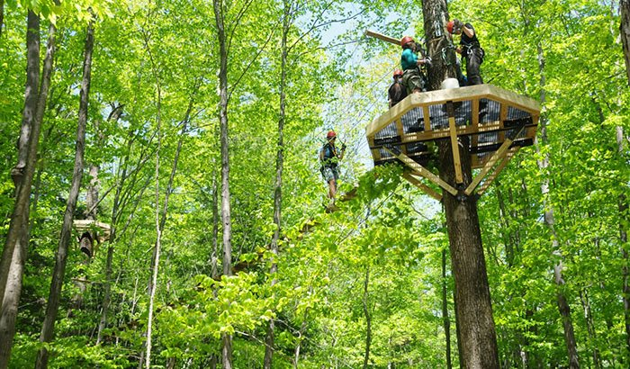 Deerfield Valley Zipline Canopy Tour
