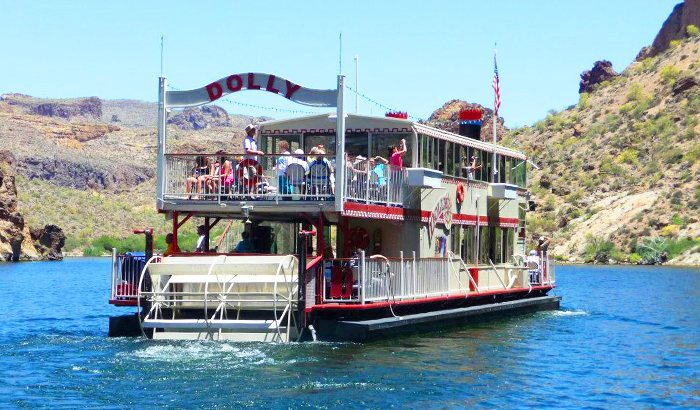 Canyon Lake Steamboat Dinner Cruise For Two