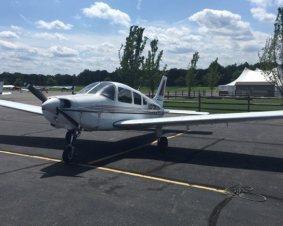 Trenton Flying Lesson