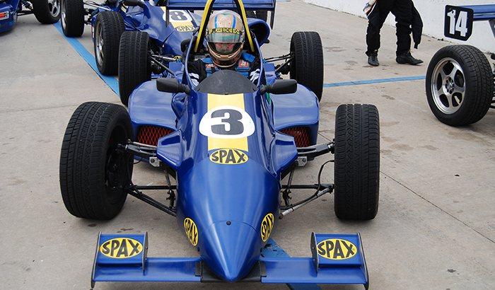 Formula 2000 Racecar Driving
