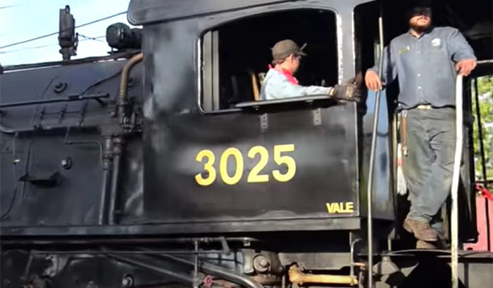 Learn to Drive a Steam Train