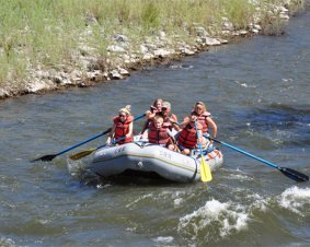Whitewater Rafting on the Eagle River