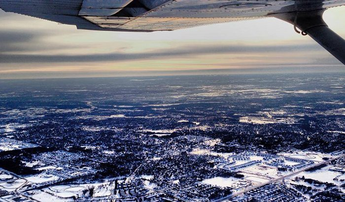 Scenic Flight Tour Over the Twin Cities