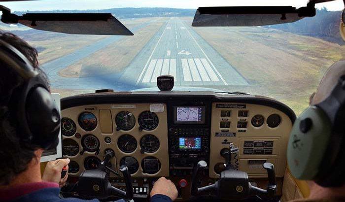 Flight Lesson in Eastern Massachusetts