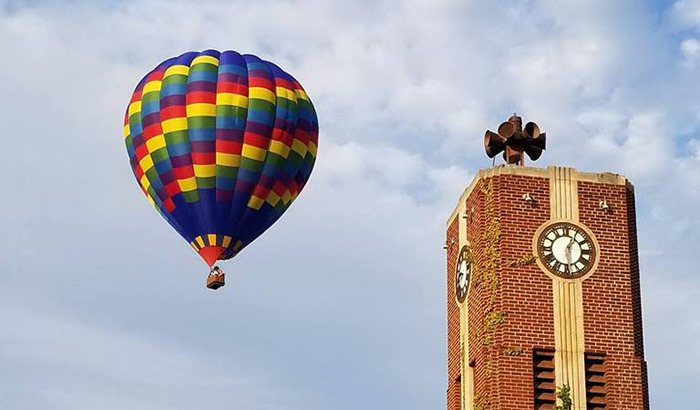 Fenton Hot Air Balloon Flight