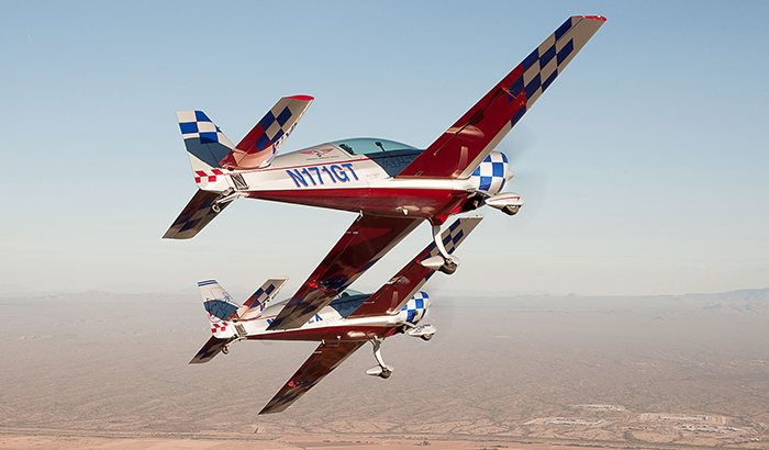 Aerobatic Power Ride Along