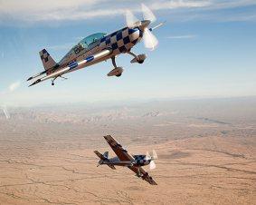 Hands-On Aerobatic Power Flight