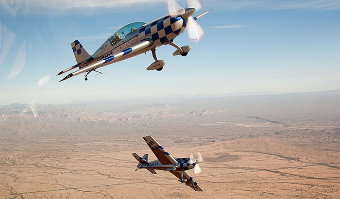 Hands-On Aerobatic Power Flight