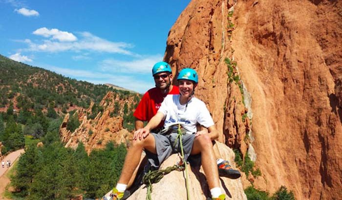 Colorado Springs Rock Climbing Tour Xperience Days