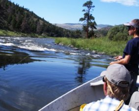 Colorado Fly Fishing River Trip