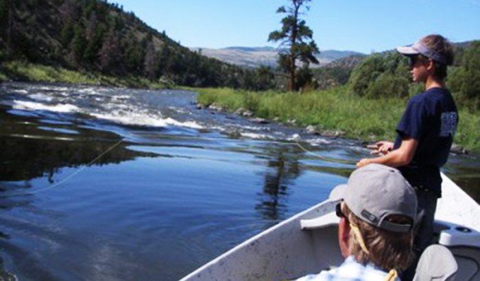 Colorado Fly Fishing River Trip