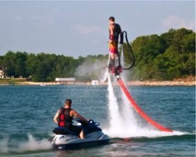 Lake Lanier Flyboarding