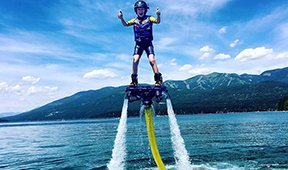 Flyboard and Jetpack Rides