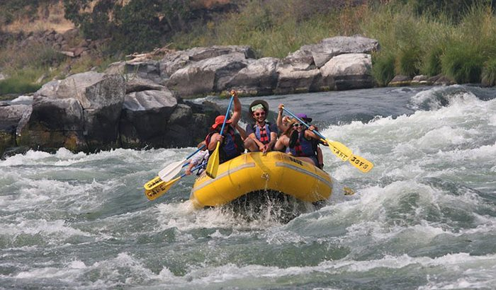 Deschutes River Whitewater Rafting Full Day