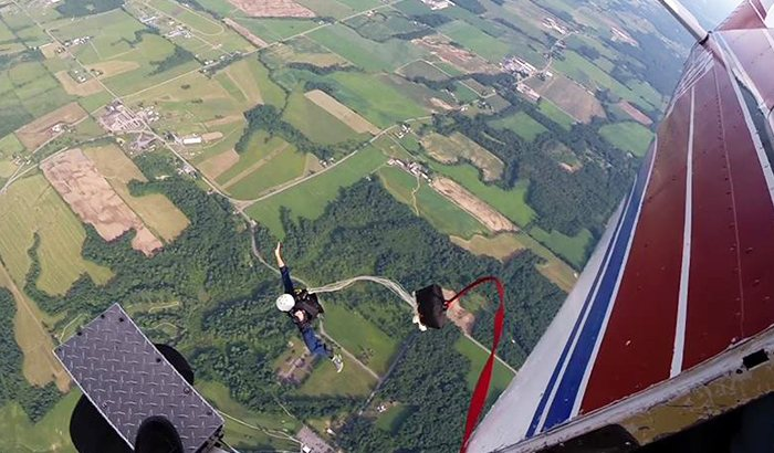 Static Line Skydive Albany For Two
