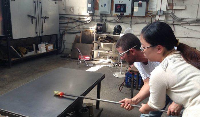 Oakland Glassblowing Class