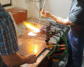 Center City Glass Pendant Making Workshop