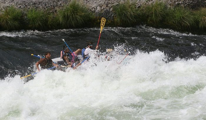 Deschutes River Whitewater Rafting Half Day