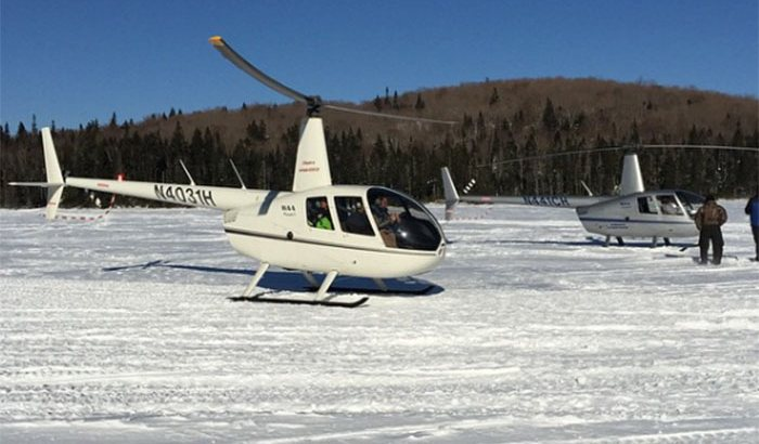 Helicopter Flight Lesson Over Nashua