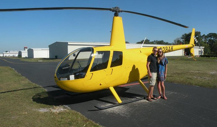 Helicopter Tour Over Tampa