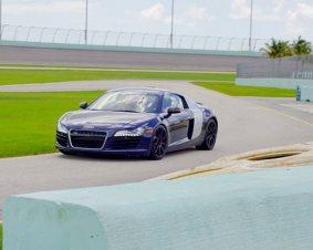Audi R8 Driving Miami